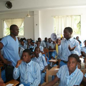 Grupo Salud Integral lleva cabo  campañas de sensibilización y educación sexual en Colegios e Institutos de Haití
