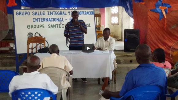 Debates y reflexiones  con líderes de la comunidad en el municipio de Ferrier (Haití) sobre la problemática de salud; análisis e hipótesis sobre las posibles soluciones.