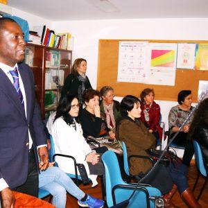 Grupo Salud Integral y  su compromiso con las comunidades desfavorecidas de  Haití en el marco de la solidaridad  Nacional(un deber moral y cívico): En  el Centro de salud de la Carolina, España el día 9 de Marzo del 2018.
