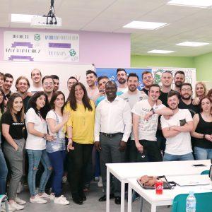 Conférence type Débat et discussion avec l'analyse des cas pratiques sur les EMERGENCES COMPLEXES en faveur des étudiants, professeurs et autres responsables de l'INSTITUT DE FORMATION PROFESSIONNELLE DE LA FONDATION ALBOR à Jaén le 26 avril 2018.